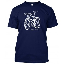 "T-Shirt Homme Bleu Navy ""Sunn mountain bikes"""