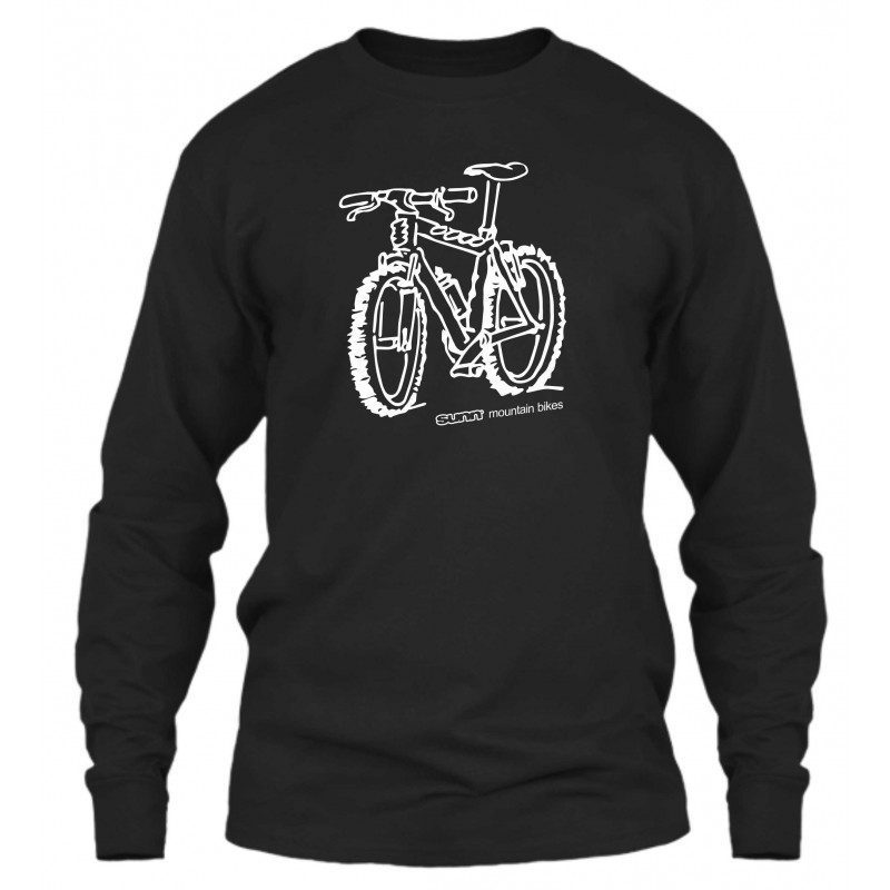 "Sweat Col Rond Noir ""Sunn mountain bikes"""