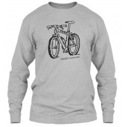 "Sweat Col Rond Gris ""Sunn mountain bikes"""