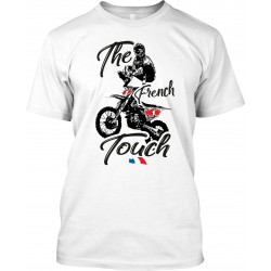 "T-Shirt Homme Blanc ""The French Touch"""